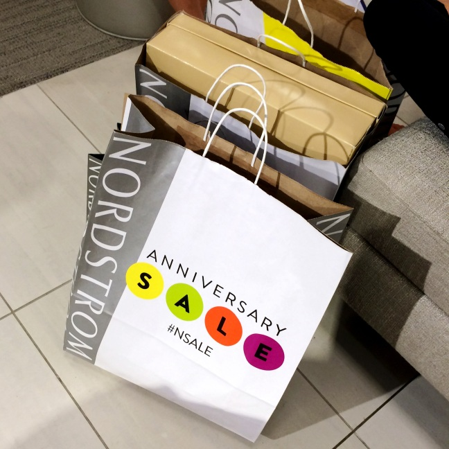 Nordstrom Anniversary Sale Shopping Bags